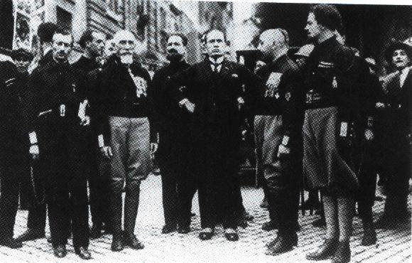 Mussolini Black Shirts