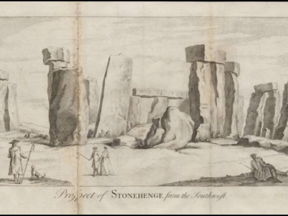 Stonehenge pre-put back together