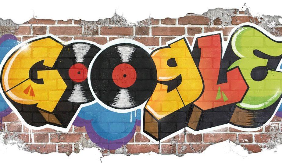 Google Doodle Graffiti Hip Hop
