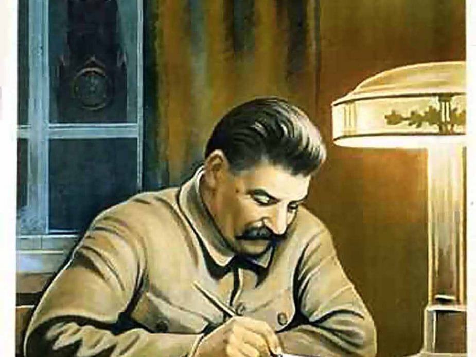 Stalin Making Lists