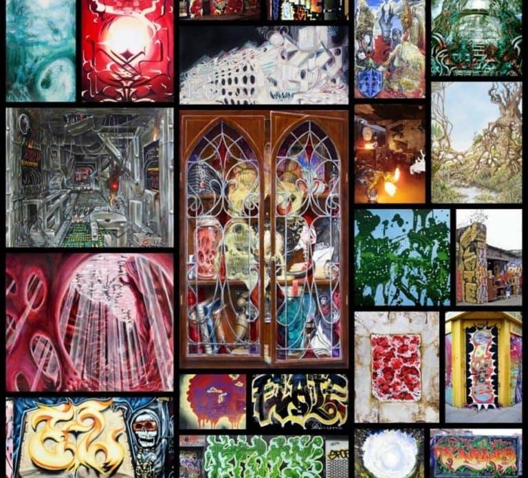 JonHammer.com Elate Paintings Collage [lo]
