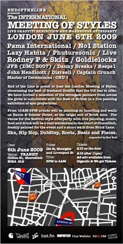 Meeting of Styles Flyer