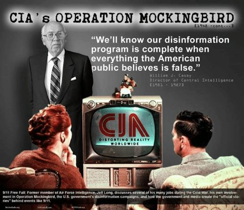 CIAs Operation Mockingbird