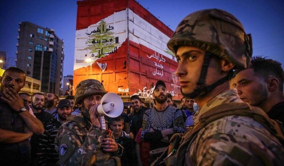 Covid Protest - Lebanese
