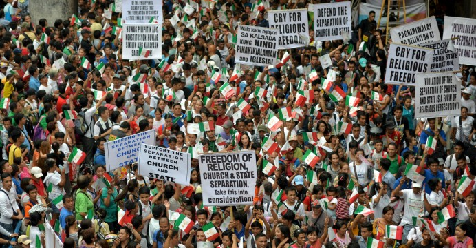 Covid Protest - Philippines