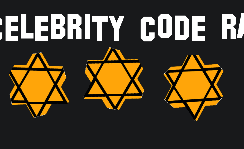 The Celebrity Code Rating Banner