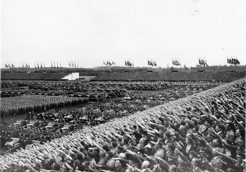 Nürnberg, Reichsparteitag, Wehrmachts-Aufmarsch