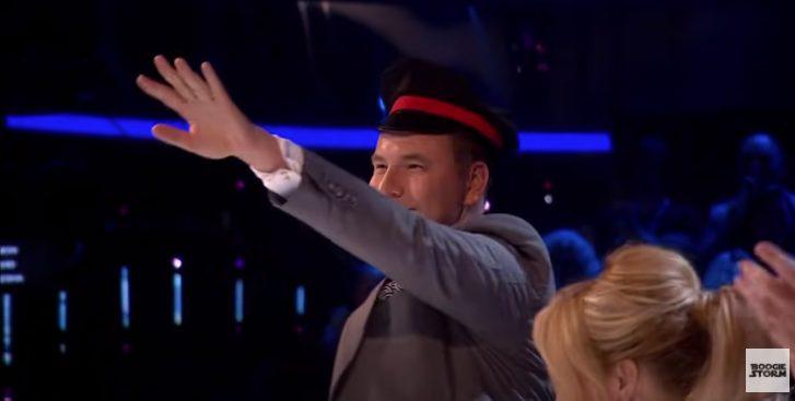 walliams nazi salute
